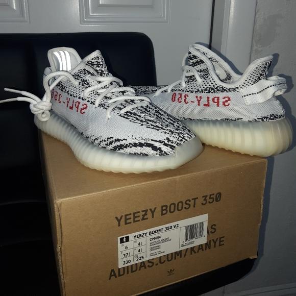 Yeezy Shoes | Zebra Size 6 Yzy | Poshmark